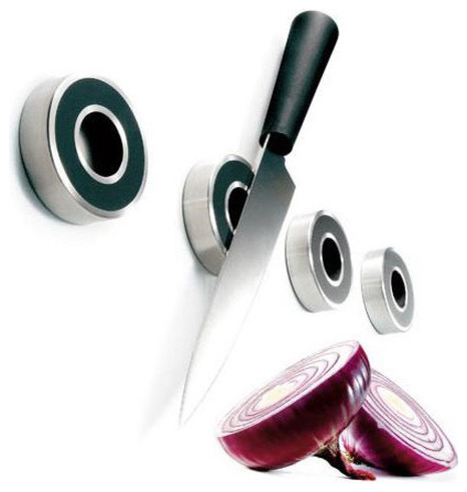 Eva Solo Knife Magnets contemporary-kitchen-drawer-organizers