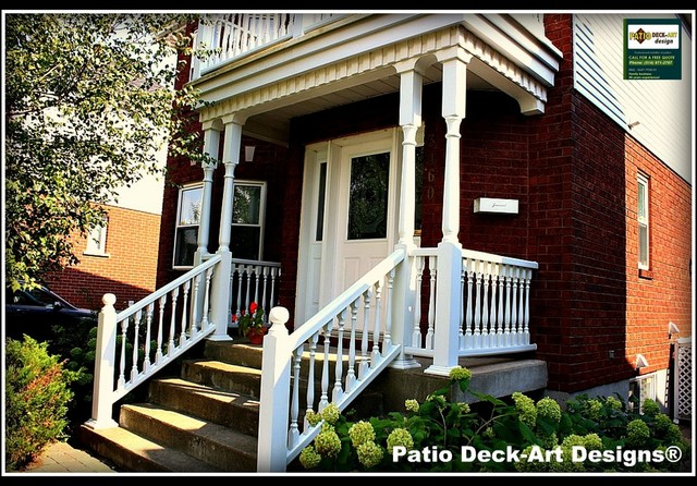 PATIO DECK-ART DESIGNS OUTDOOR LIVING contemporary-porch