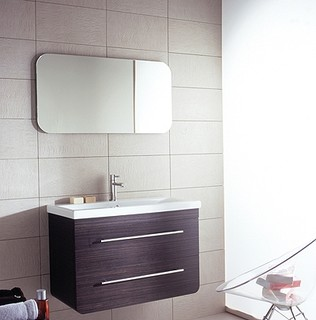 Porcelanosa Vanity - Contemporary - Bathroom Vanities And Sink Consoles - las vegas - by ...