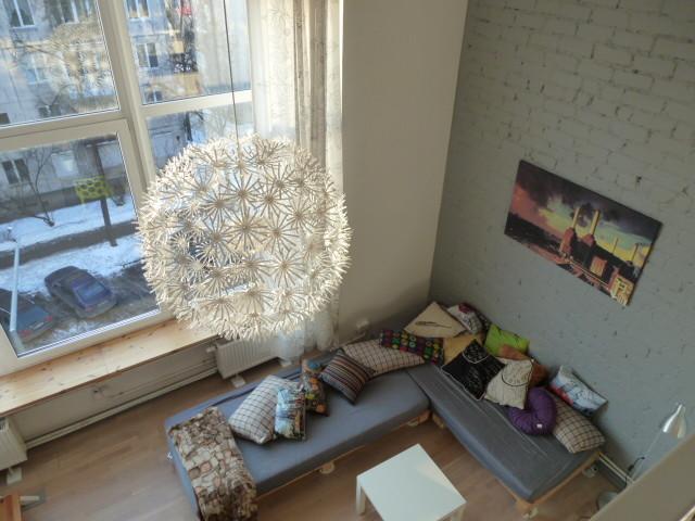 loft contemporary-living-room