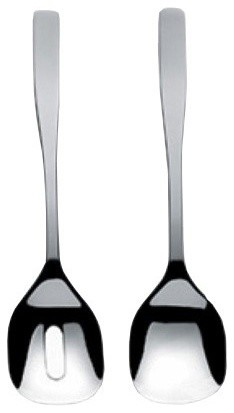 "Alessi ""KnifeForkSpoon"" Salad Serving Set modern-serving-utensils"