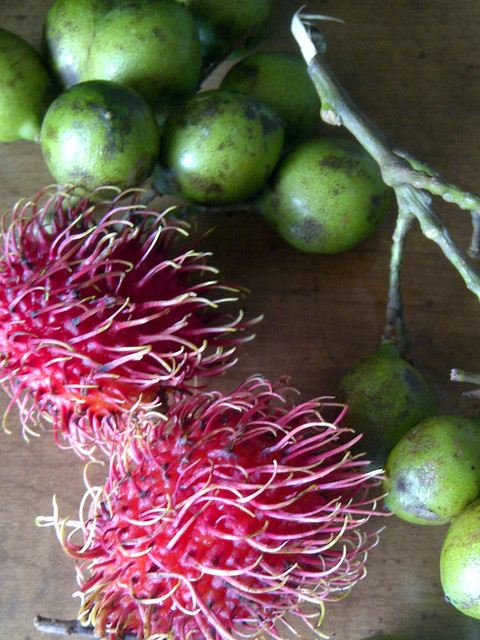 Rambutan and Guinep