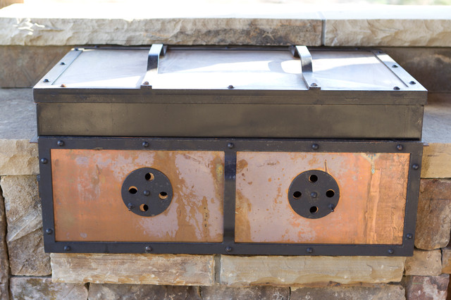 New Works from Oak hill Iron eclectic patio