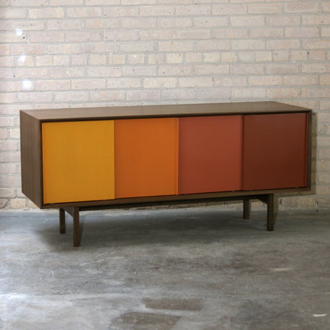 Color Story Credenza  media storage