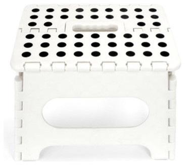 White Step Stool modern-ladders-and-step-stools