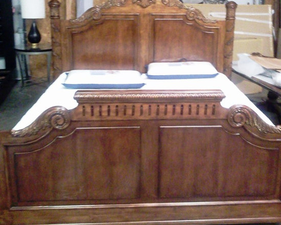 Bedroom Furniture - Hekman/ Howard Miller King Bed, Only 3 available.