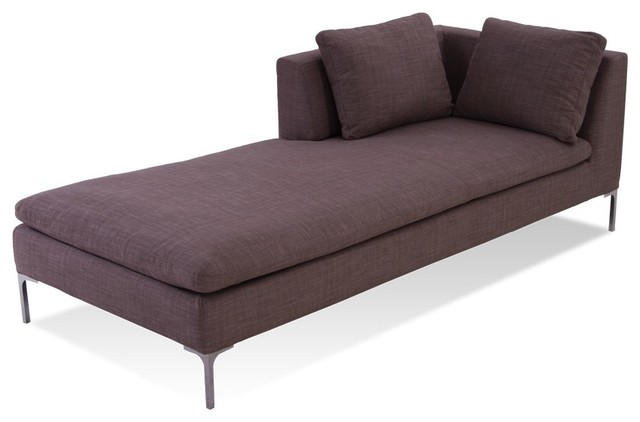 Mayfair chaise lounge contemporary indoor chaise - Designer chaise lounge chairs ...