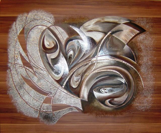 Artwork: Original paintings on wood contemporary-artwork