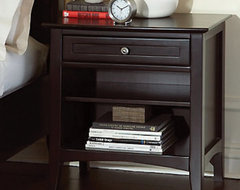 Newport 1 Drawer Nightstand traditional-nightstands-and-bedside-tables