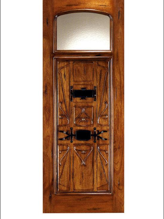 Art Nouveau Entry Doors Model # AN-2003 -
