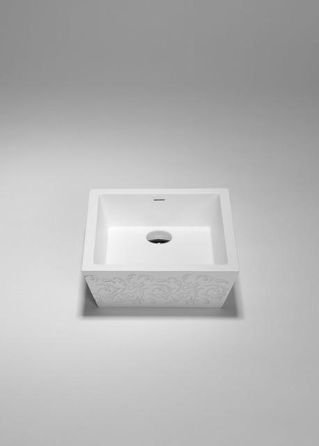SA0209 blu•stone™ countertop sink modern-bathroom-sinks