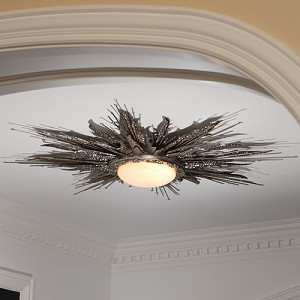 Flame Light Fixture - Contemporary - Bathroom Vanity Lighting - by Interior HomeScapes