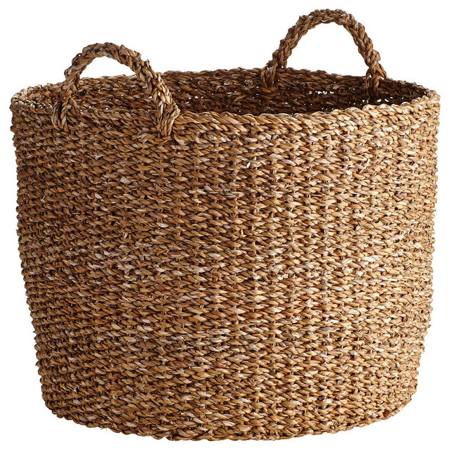 Oversized Seagrass Basket New Beach Style Baskets