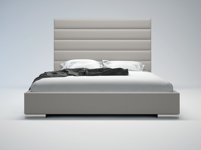 prince contemporary modern bed by modloft contemporary
