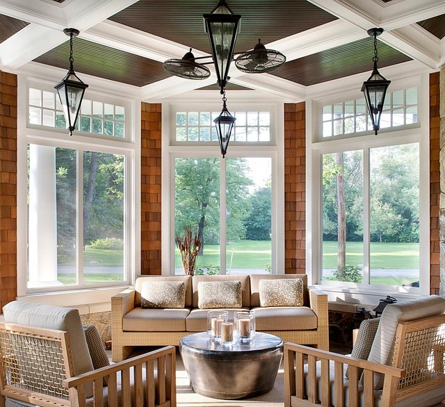 Shingle Style traditional-porch