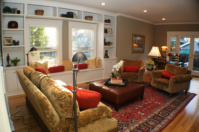 Living in a Vintage Home eclectic-family-room