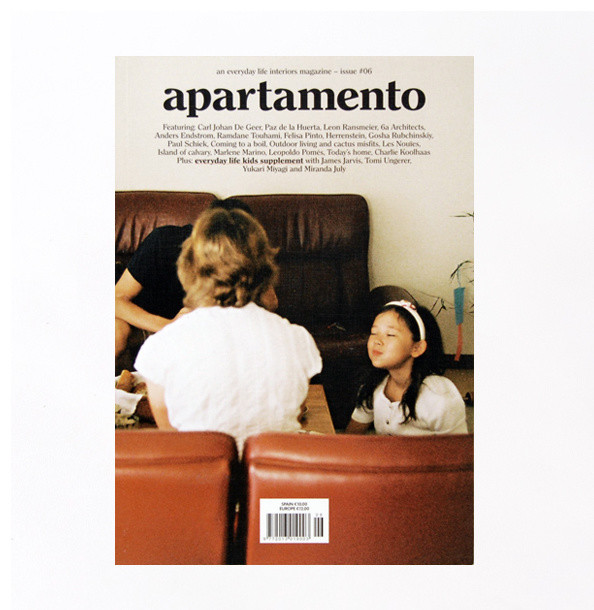 APARTAMENTO Magazine contemporary books