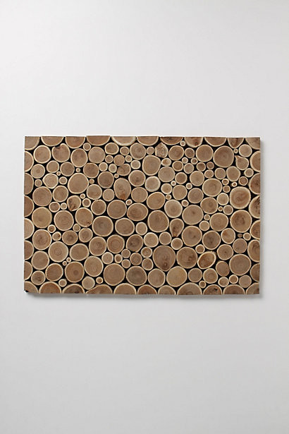 Tree Trimmings Doormat contemporary-doormats