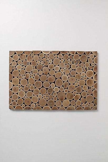 Tree Trimmings Doormat rustic-doormats