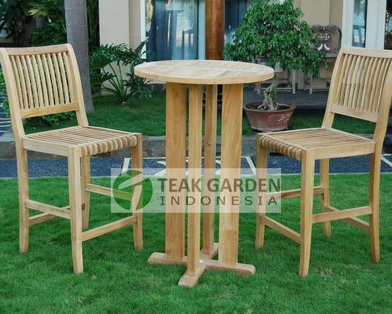 Teak Garden Furniture, Teak Bar set - Teak Bar Set by CV. Teak Garden Indonesia. Visit http://www.teakgardenindonesia.com for more info