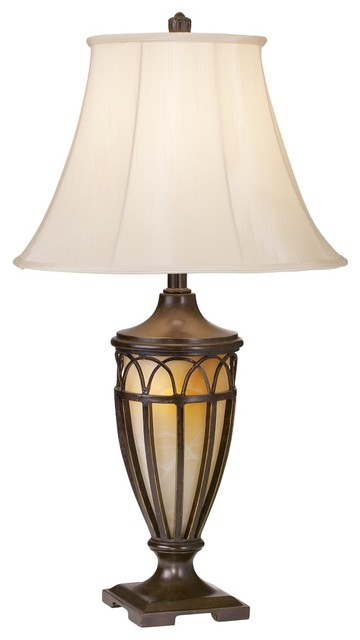 Arts and Crafts - Mission Decorative Iron Villa Style Night Light Table Lamp traditional-table-lamps