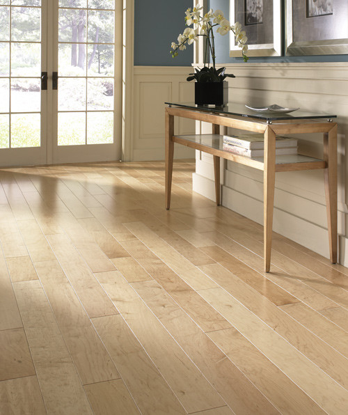 Lm flooring kendall click north american maple natural for North wood flooring