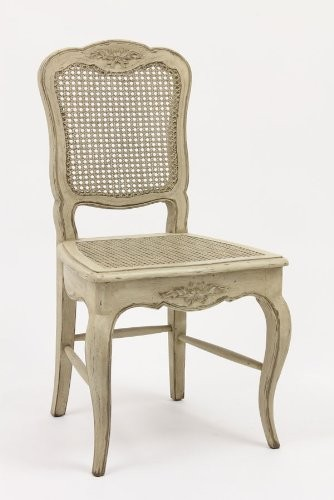 French Country Cane Chair Traditional Armchairs And