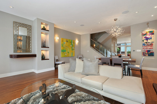 Bay Area projects contemporary-living-room