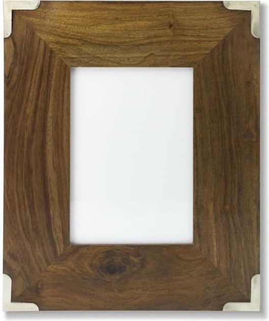 22x28 Black Wood Frame.Sheesham Wood Frame Traditional Picture ...
