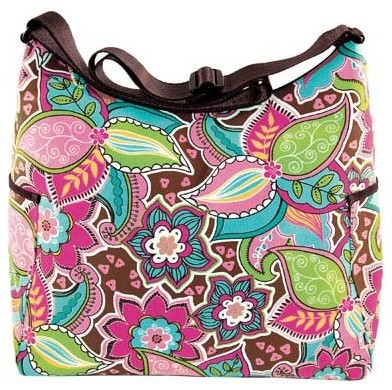 Spring Floral Bouquet Hobo Diaper Bag by OiOi Baby Bags modern-kids-products