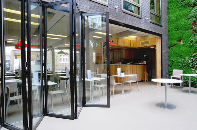 Sliding Doors modern screen doors