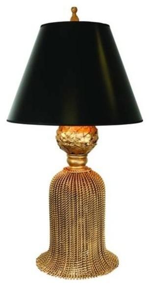 Gold Tassel Lamp By Dr Livingstone I Presume