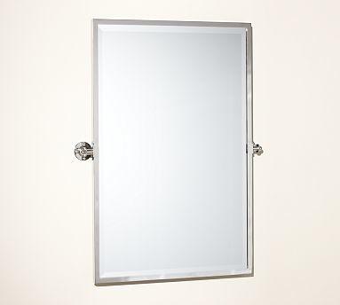 Kensington Pivot Mirror Extra Rectangle Polished