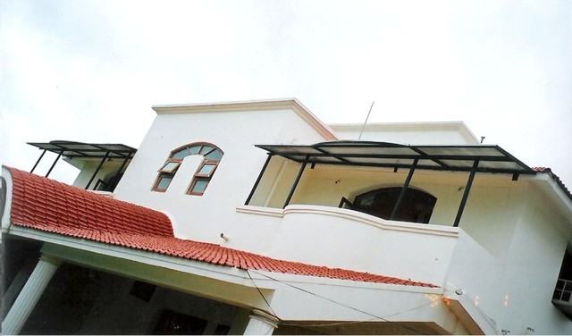 Roofing Project Modern Outdoor Fabric Other Metro