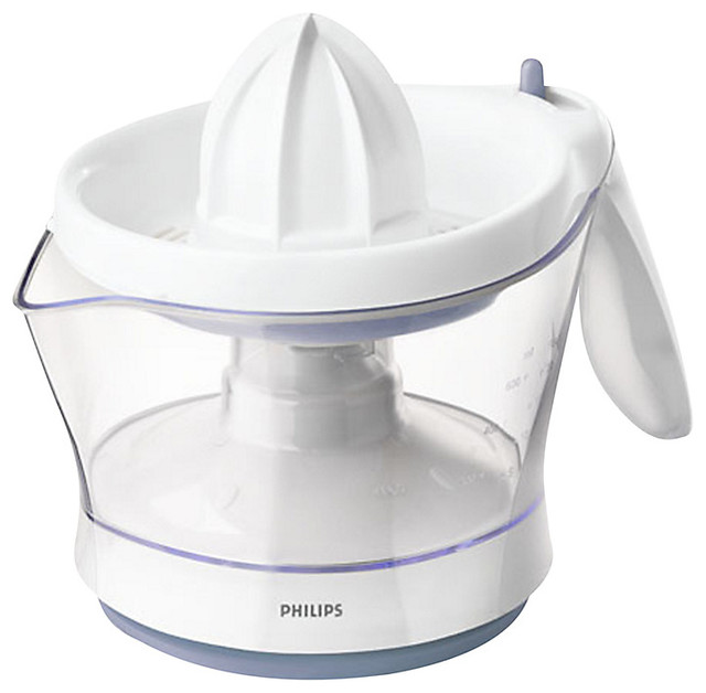 Philips HR2744/41 viva Collection Citrus Press - Traditional - Juicers - by John Lewis
