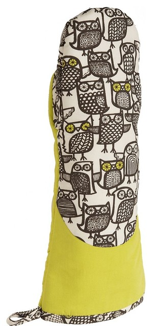 Oven Mitt - Minerva Owl Oven Mitt - Paper Source  oven mitts and pot holders