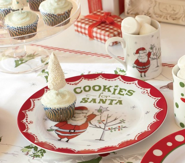 Contemporary Holiday Dinnerware by Pottery Barn Kids