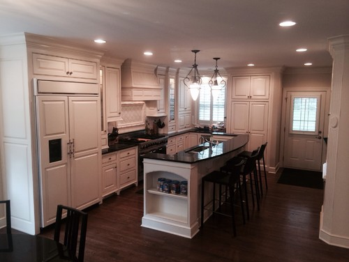 Kitchen island redo--cabinet and countertop options?