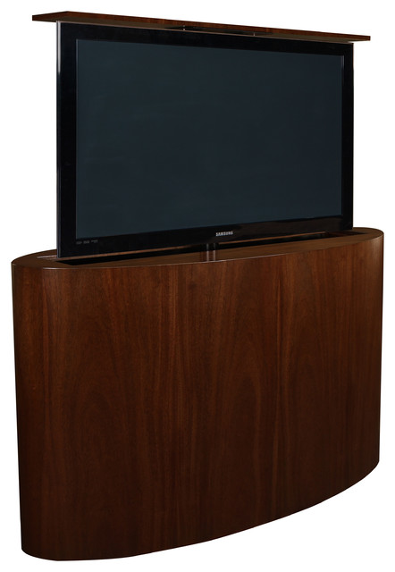 Atlantis Pop TV lift cabinets US Made TV lift cabinet is available in 5 woods - Modern ...