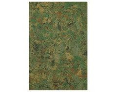 Liora Manne Carrara Green Area Rug contemporary-doormats