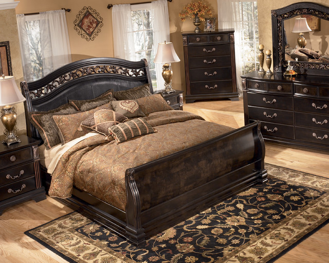 New bedroom sets by ashley furniture bedroom furniture for Bedroom set with bed