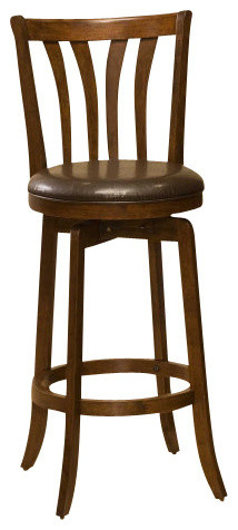 Hillsdale Savanna Swivel 26 Inch Counter Height Stool In
