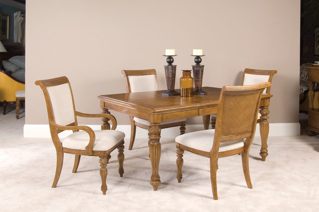 American Drew 079-639 Grand Isle Arm Chair-Kd traditional-dining-chairs
