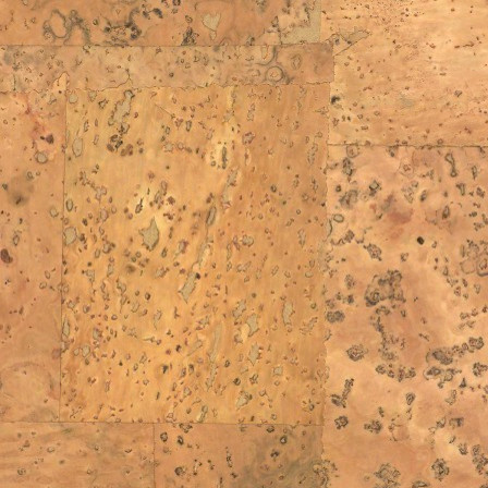 Natural Java Cork Wallpaper eclectic-wallpaper