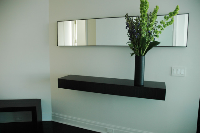 Floating Shelf for Entry Wall - Modern - Display And Wall Shelves ...