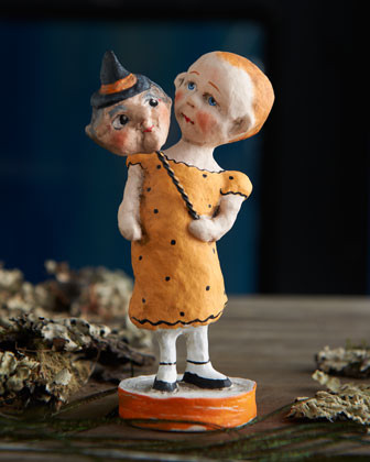 Debbee Thibault Poor Pitiful Pearl Halloween Figure traditional holiday decorations