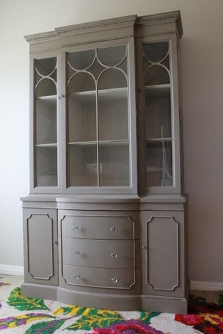 Vintage China Cabinet - Traditional - China Cabinets And ...