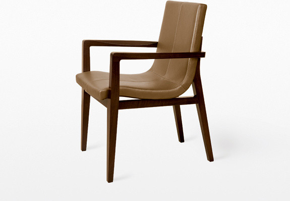 Siren Dining Chair by Holly Hunt contemporary dining chairs and benches
