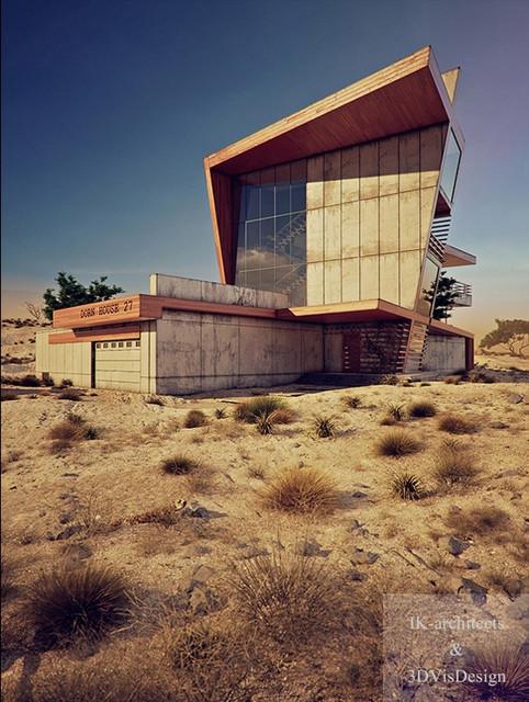 Desert Rose contemporary-rendering