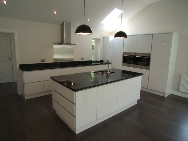 Nero India Granite Island Worktops Contemporary